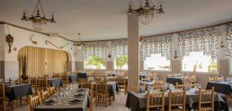 Menjador interior Restaurant Vistamar